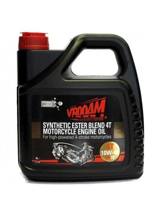 VR70 Lubricante SAE 10W-40 Moto 100% Sintético Ester Blend
