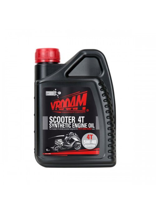 Lubricante Scooter 4T SAE 5W-40 100% Sintetico