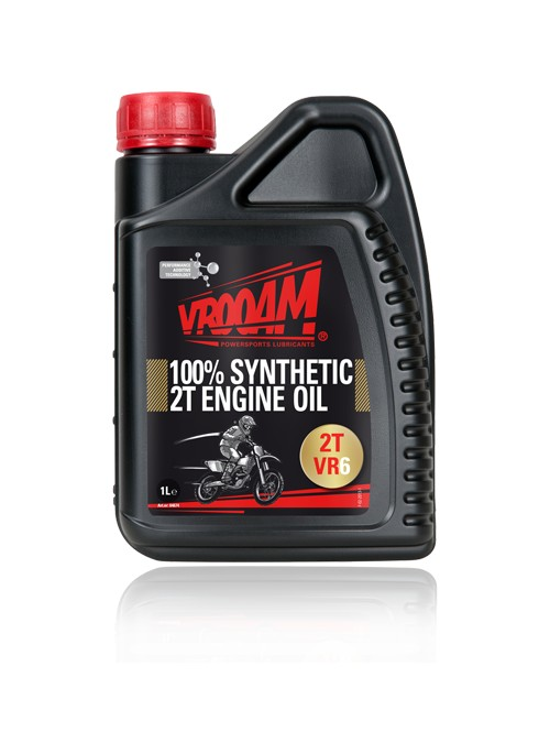 VR6 Lubricante Moto 2T Racing 100% Sintetico
