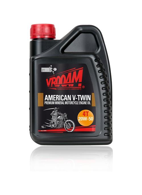 V-TWIN Lubricante SAE 20W-50 Moto Premium Mineral